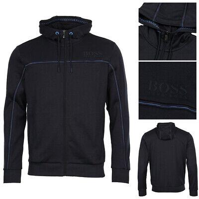 Hugo Boss Green Men's Premium Saggy Zip Up Sport Track Hoodie Jacket Activewear