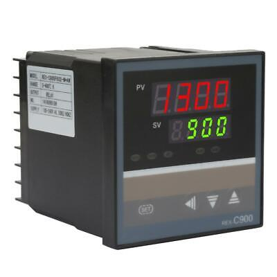 Rex-c900 Digital Pid Temperature Controller Thermocouple Relay Output Ac100-240v