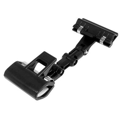 Screws Settled Plastic Pop Sign Card Display Clip Price Tags Holder Black H3n1