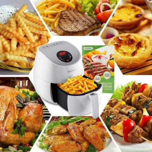 1300W Air Fryer Digital LED Touch Screen Technology, Timer,Temperature Control