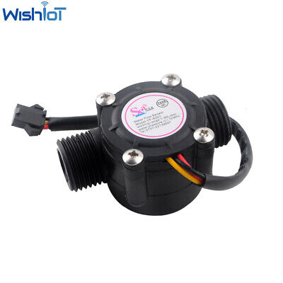 1-30lmin Water Flow Sensor Flowmeter 12 Flow Sensor Water Controller Yf-s201