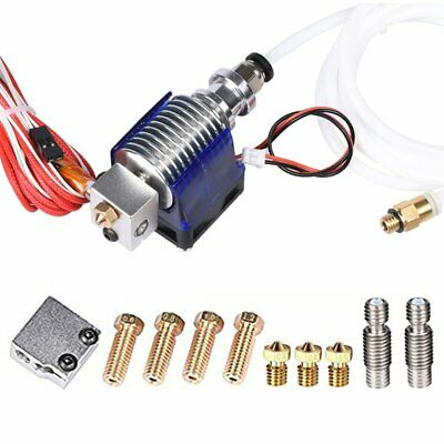 3D Printer J-head all metal V6 Hotend w/ Fan for 1.75mm 12v 0.4mm Nozzle+Volcano