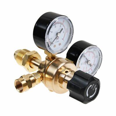 Argonco2 Gas Mig Tig Flow Meter Regulator Pressure Control Gauge Welder Usa