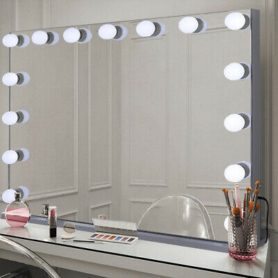 100cm Extra Large Vanity Mirror Hollywood Makeup Mirrors with Lights 15 LED Bulb