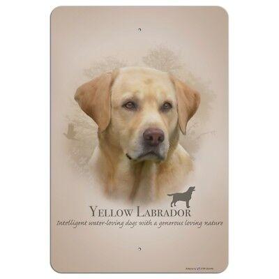 Yellow Labrador Retriever Dog Breed Home Business Office Sign