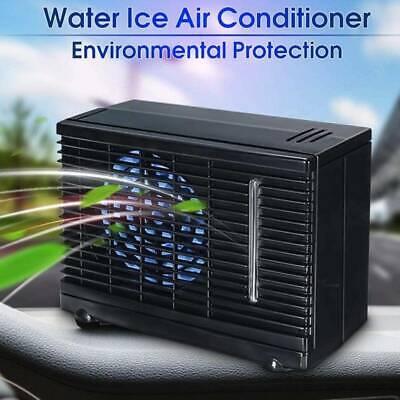 Car Air Conditioner Quiet Cooling Fan DC 12V Portable Auto Vehicle Cooler UK