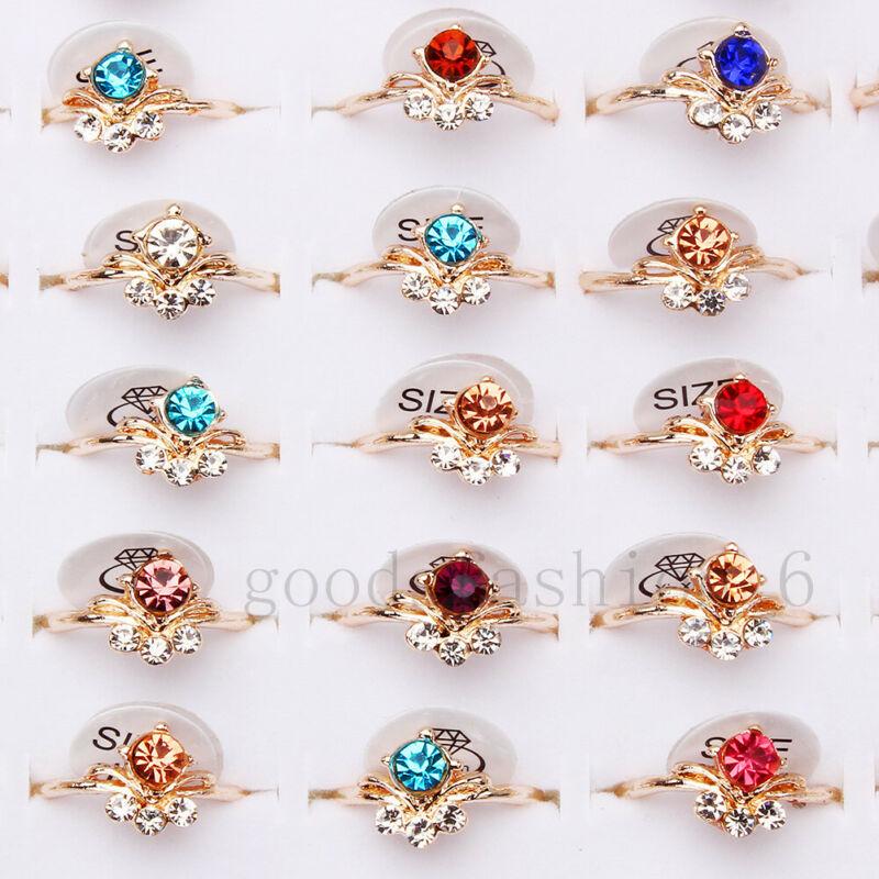Fashion 20pcs Wholesale Jewelry Mixed Lots Women