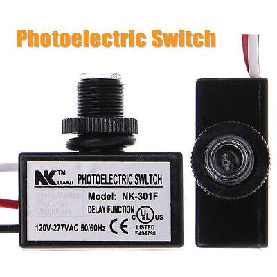 1pc Electric Resistor Photo Light Sensor Switch Dusk To Dawn Sensor Control Usa