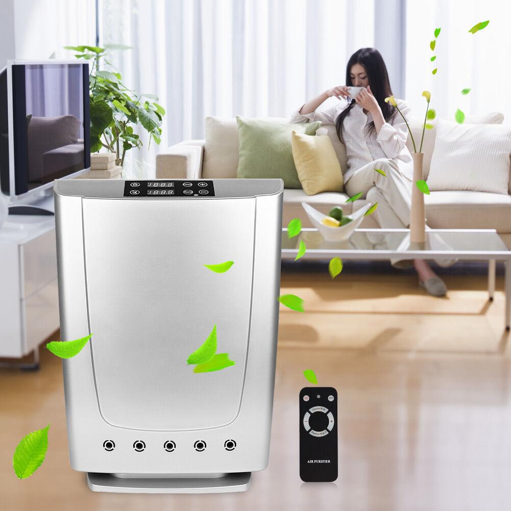 Plasma Ozone Air Purifier Air Purification Water Sterilization Smoke Remover