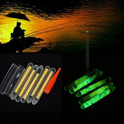 5-100X Knicklichter Bissanzeiger Leuchtstäbe Angeln Fluorescent Licht Glow Stick ()