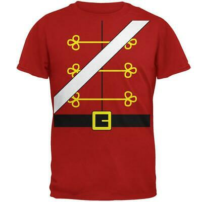 Christmas Toy Soldier Nutcracker Costume Mens Soft T Shirt - Toy Soldier Nutcracker Costume