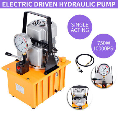 Bomba hidráulica eléctrica impulsada 750W Fácil de operar y de alta seguridad