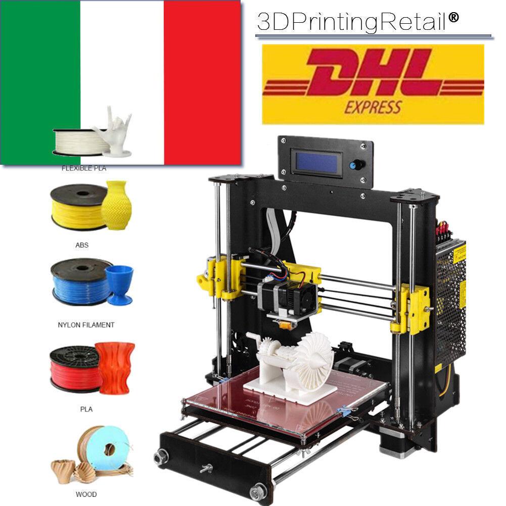 CTC DIY stampante 3D For Reprap Prusa i3 MK8 extruder USB/SD scheda DC 12V/24V