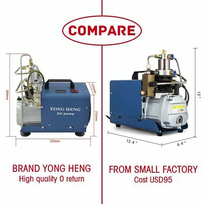 Yong Heng 30mpa Air Compressor Pump 110v Pcp Electric 4500psi High Pressure Hu