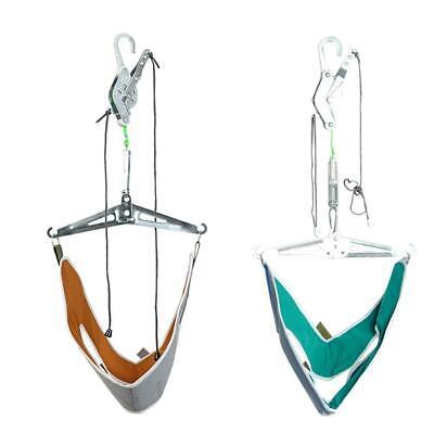 Over Door Hang Cervical Traction Kit Neck Back Stretcher Adjustment Chiropractic ()