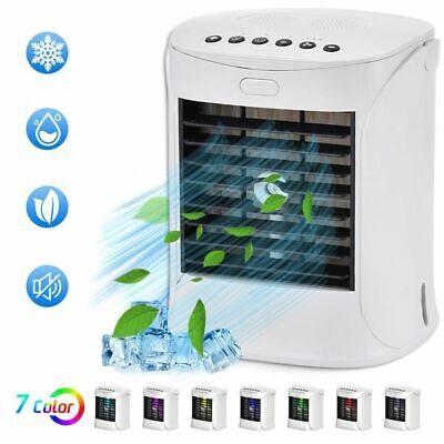 Portable Mini Air Conditioner Fan Personal Space Cooler Quick Easy Way Cool Home