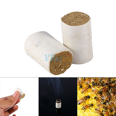 54x Beekeeping Tool Bee Hive Smoker Fuel Chinese Medicinal Herb Smoke Honey Made