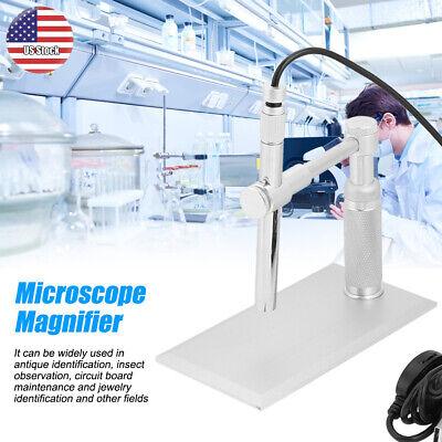 Adjustable 2mp Usb Digital Pen Microscope Magnifier Webcam Endoscope Loupe