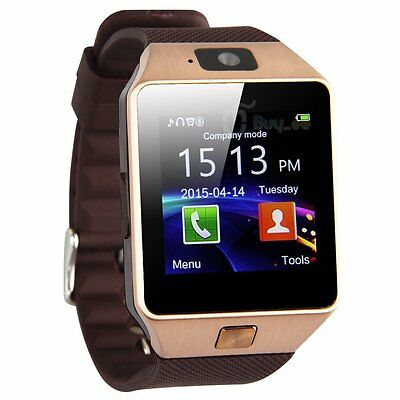 DZ09 Bluetooth Smart Watch Phone Camera SIM Card For Android IOS Phones