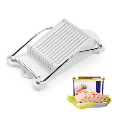 Bread Sausage Slicer Stainless Steel 10 Wires Meat Fruit Soft Cheese Cutter US Soft Cheese Slicer