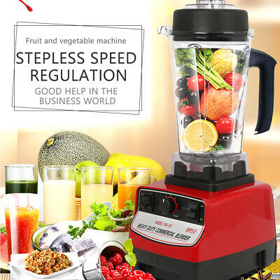 Us 2l 2200w Heavy Duty Commercial Grade Blender Mixer For Juicer Food Fruit Ice