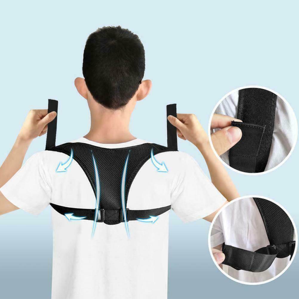 Back Support Shoulder Straightener Adjustable Posture Corset