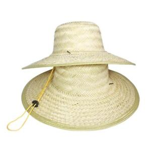 dfe27ff71ee32 Chinese Oriental Vietnamese Straw Bamboo Sun Hat Farmer Outdoor Fishing  Rice Hat
