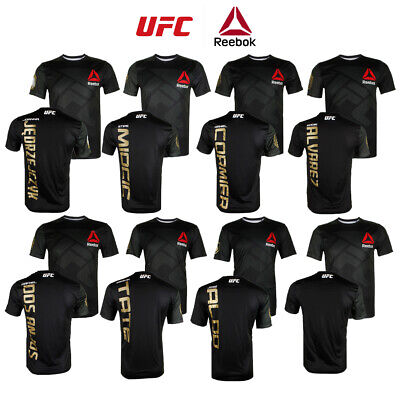 Reebok Men's UFC Official Fighter Jersey Shirt Activewear
