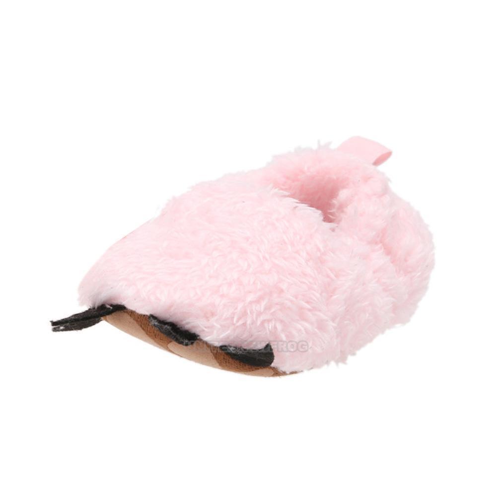 Newborn Baby Boy Girl Plush Paw Warm Boots Toddler Soft Sole Shoes Prewalker