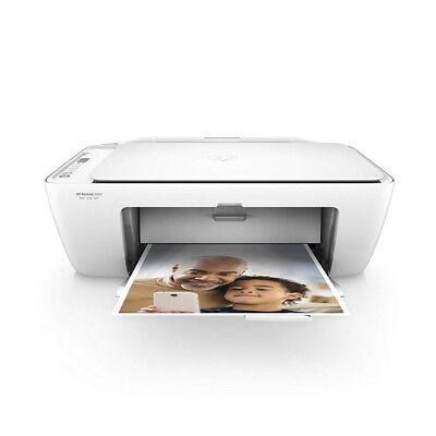 HP Inkjet Printer White DeskJet 2655 Wireless All-In-One Color V1N04A