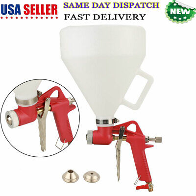 Air Hopper Spray Gun Paint Texture Tools Drywall Wall Paint Sprayer W3nozzle