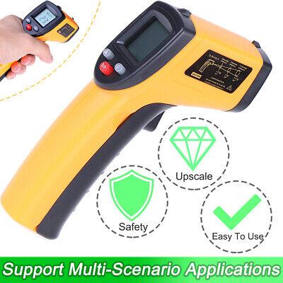 Digital Non Contact Lcd Ir Laser Infrared Temperature Pyrometer Thermometer Gun