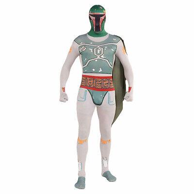 Star Wars - Boba Fett Skinsuit Morph Suit - Fett Kostüme Uk