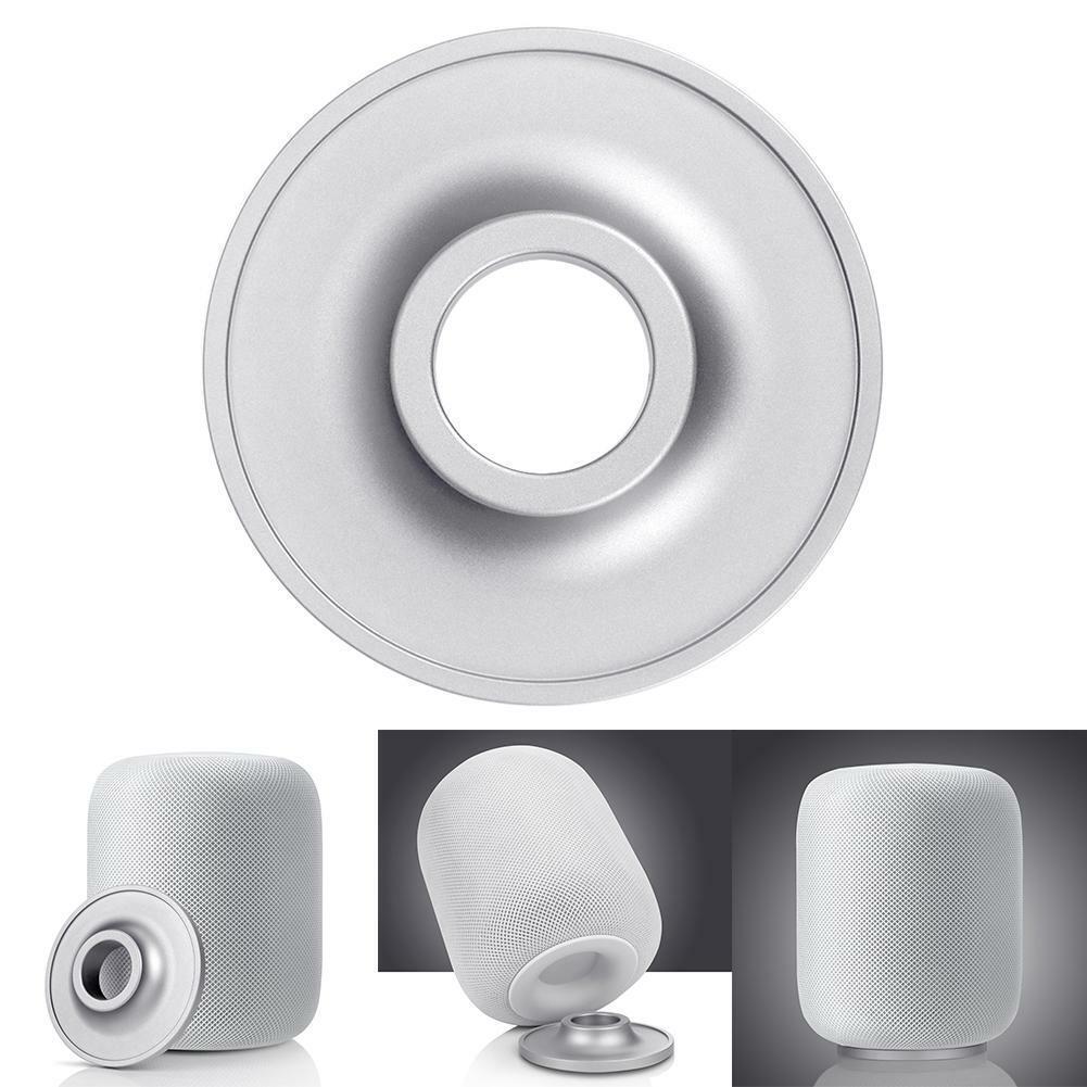 Stainless Steel Stand Smart Speaker Metal Base Pad Holder fo