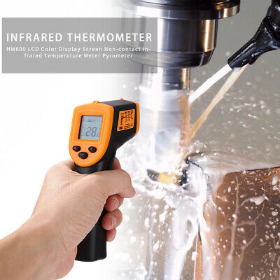 H600 Temperature Gun Non-contact Digital Laser Infrared Ir Thermometer