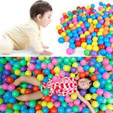 Lot coloré Balle Océan balles Doux Plastique bébé Enfant Nager Fosse Jouet 70mm