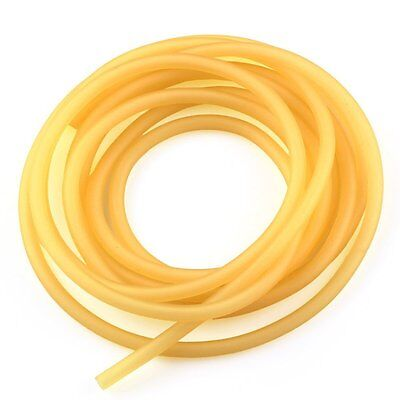 18 I.d. X 14 O.d. Natural Latex Rubber Tubing - Sold By The Foot