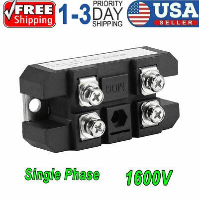 1x 4 Terminals Single-phase Diode Bridge Rectifier Mdq 150a Amp High Power 1600v