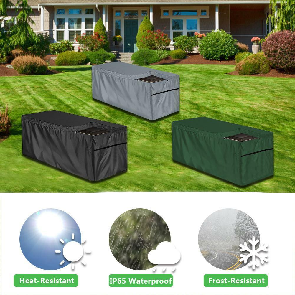 Outdoor Storage Waterproof Patio Box Cover Garden Cover Box