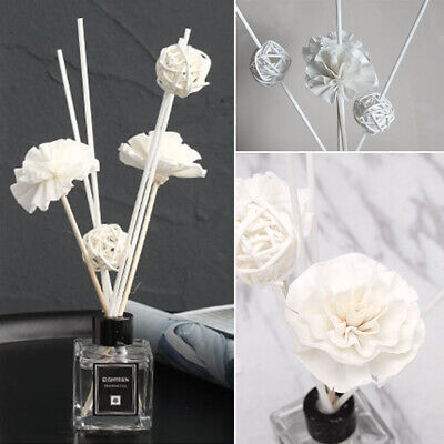 Flower Reed Oil Diffuser Replacement Rattan Stick Essential Fragrance Refil UK