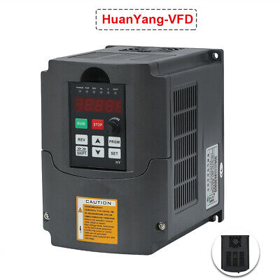 Vfd Variable Frequency Drive Inverter Cnc New 1.5kw 110v Hq 2hp 7a