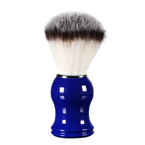Mens Nylon Synthetic Fiber Shaving Brush Hair Shave Resin Ha