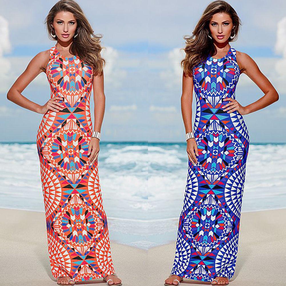 Платья макси на лето