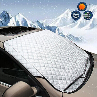 Car Truck Windshield Snow Winter Ice Frost Guard Protector Sun Shield Cover Well Car & Truck Parts