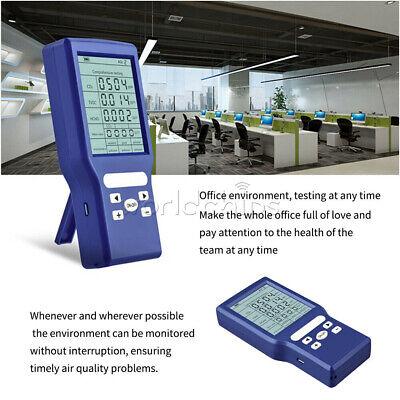 Carbon Dioxide Sensor Monitor Co2tvoc Hcho Pmm Meter Gas Air Tester Detector
