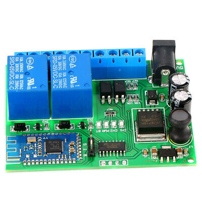 2-channel Bluetooth Relay Wireless Remote Control 2 Relay Bluetooth Motor Led