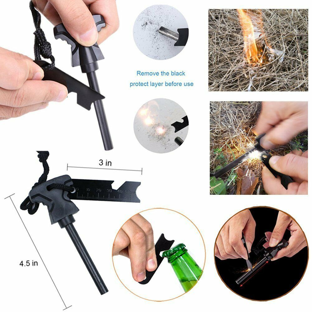 11 in 1 Emergency Camping Survival Equipment Kit Outdoor Tactical Gear Tool Set 9