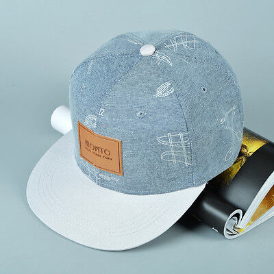 Fashion Snapback Hats Unisex Men's Women's Hip-Hop Adjustable Baseball Cap Cool