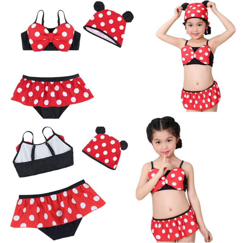 56ad917d3e Toddler Baby Girls Kids Swimsuit Bathing Tankini Bikini Set Swimwear  BeachwearUSD 5.35
