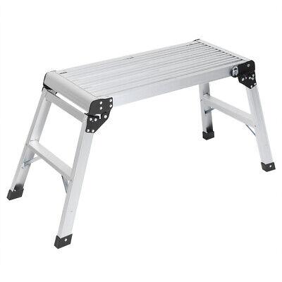 Aluminum Folding Platforms Work Bench Step Decorators Work Plate Ladder Diy